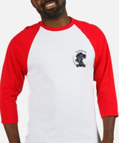 Black Poodle IAAM Pocket Baseball Jersey