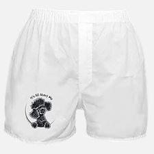 Black Poodle Lover Boxer Shorts