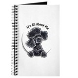 Black poodle lover journal Journals & Spiral Notebooks
