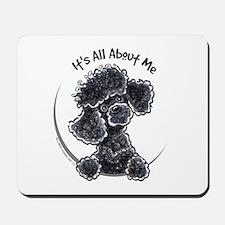 Black Poodle Lover Mousepad