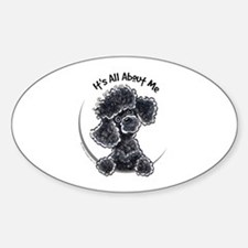 Black Poodle Lover Decal