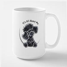 Black Poodle Lover Mug