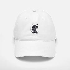 Black Poodle Lover Baseball Baseball Cap