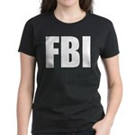 FBI Women's Dark T-Shirt