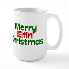 Merry Elfin' Christmas Mug