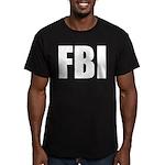 FBI Men's Fitted T-Shirt (dark)
