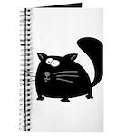 Cute Black Cat Journal