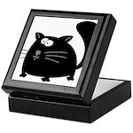 Cute Black Cat Keepsake Box