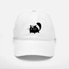 Cute Black Cat Baseball Baseball Cap