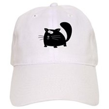 Cute Black Cat Baseball Cap