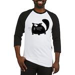 Cute Black Cat Baseball Jersey
