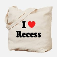 I Heart Recess: Tote Bag