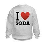 I Love Soda Kids Sweatshirt