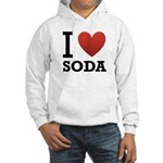 I Love Soda Hooded Sweatshirt