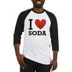 I Love Soda Baseball Jersey