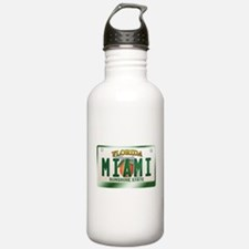 """MIAMI"" Florida License Plate Water Bottle"