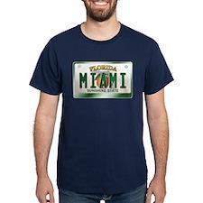 """MIAMI"" Florida License Plate T-Shirt"
