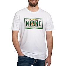 """MIAMI"" Florida License Plate Shirt"