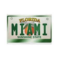 """MIAMI"" Florida License Plate Rectangle Magnet"