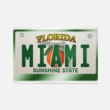 """MIAMI"" Florida License Plate Rectangle Magnet"