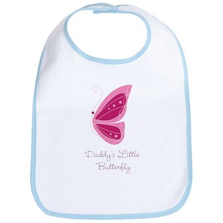 Daddy's Little Butterfly Bib