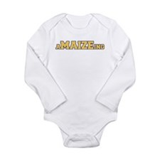 aMAIZEing Long Sleeve Infant Bodysuit
