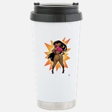 Cute Ebony Travel Mug