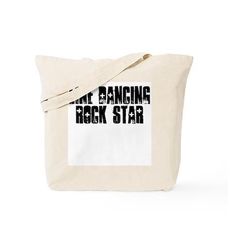 Line Dancing Rock Star Tote Bag
