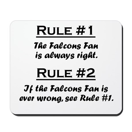 Falcons Mousepad