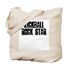 Kickball Rock Star Tote Bag