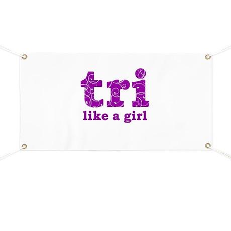 tri like a girl Banner