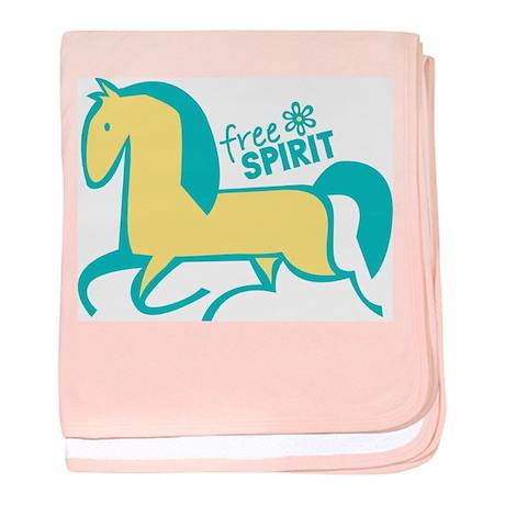Free Spirit Pony baby blanket