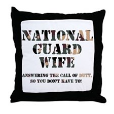 NG Wife Answering the Call Throw Pillow