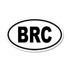 BRC 20x12 Oval Wall Peel