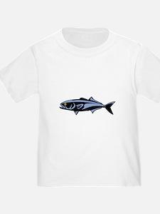 Graphic Blue Fish T