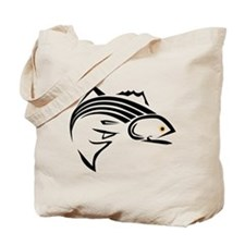 Striper Graphic Tote Bag