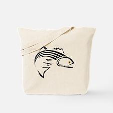 Striper Graphic Tote Bag