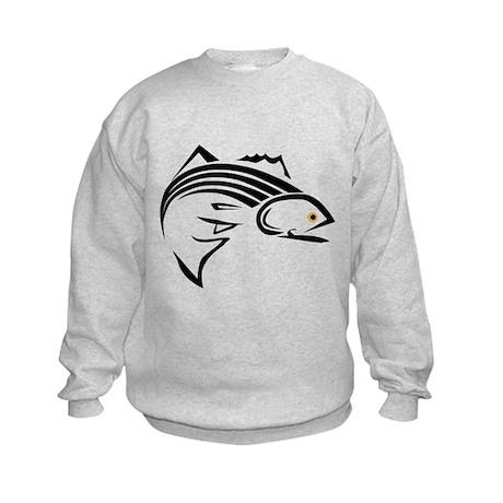 Striper Graphic Kids Sweatshirt