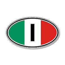 Italy Euro 20x12 Oval Wall Peel