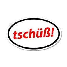 Tschüß! German Sticker