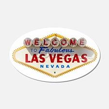 Las Vegas 20x12 Oval Wall Peel