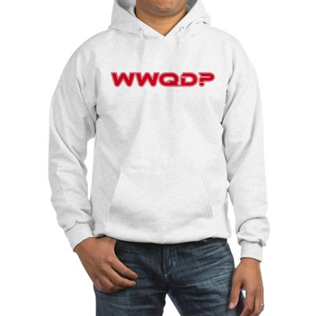 WWQD? Star Trek Humor Hooded Sweatshirt