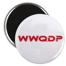"WWQD? Star Trek Humor 2.25"" Magnet (100 pack)"