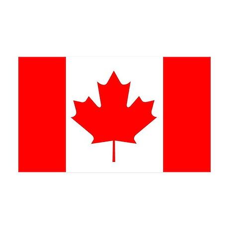 Canada 35x21 Wall Peel