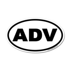 ADV Euro 20x12 Oval Wall Peel
