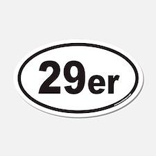 29er Euro 20x12 Oval Wall Peel