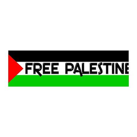 Free Palestine 36x11 Wall Peel