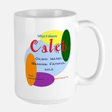 CALEB Name Mug (15 oz)