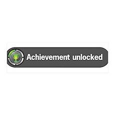 Achievement Unlocked 36x11 Wall Peel