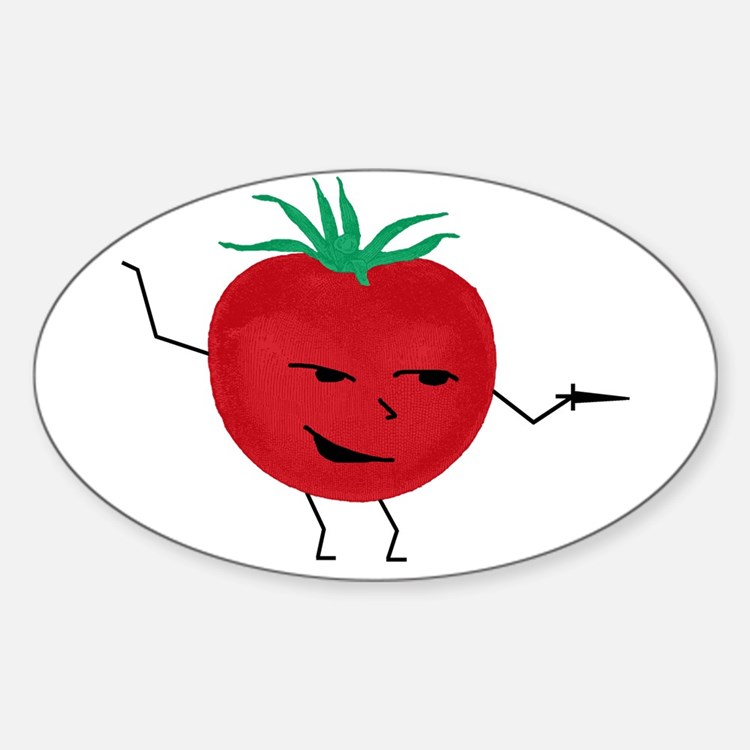 Tomate Solo Sticker (Oval)